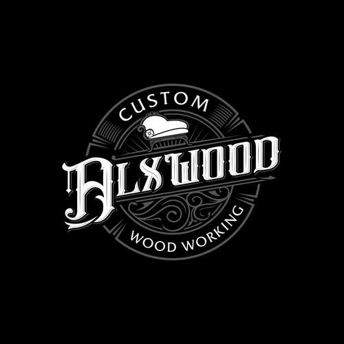 Wood Working Vintage Logo
