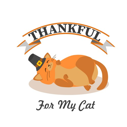 Thankful for my cat