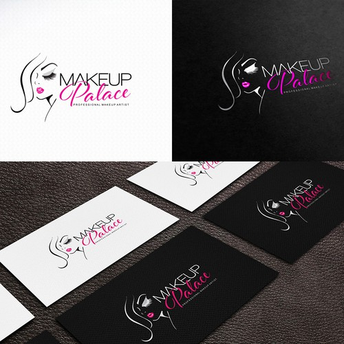 Create an exlusive new logotype for MakeUp Palace