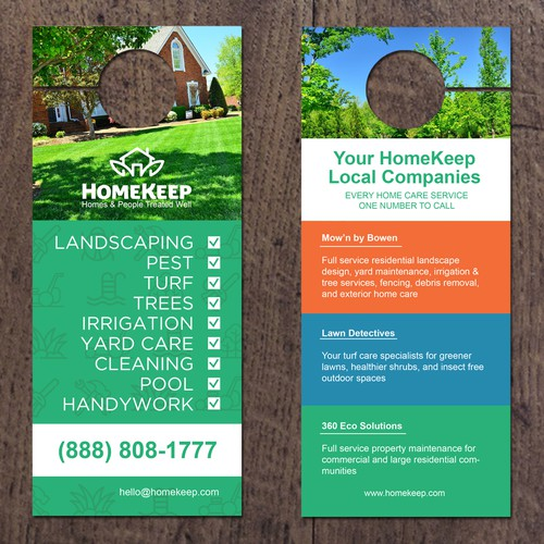 Door Hanger for Home Care Services