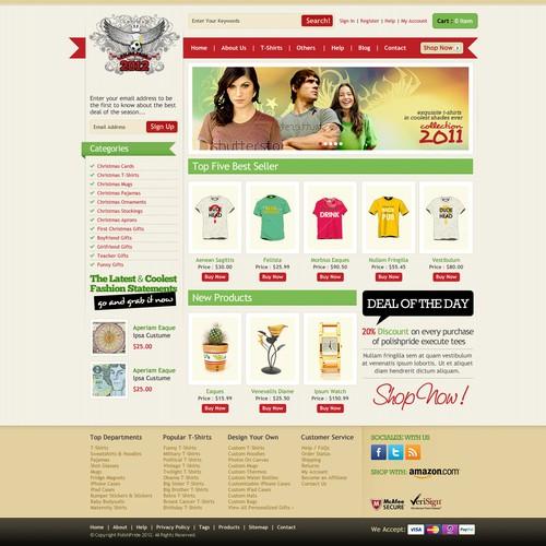 WEBSITE DESIGN for POLISH PRIDE 2012