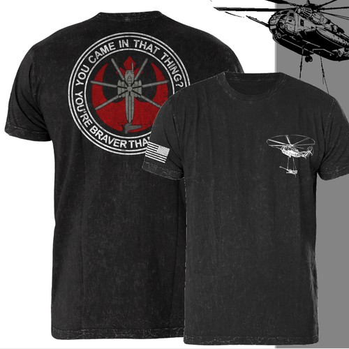 Helicopter unit shirts