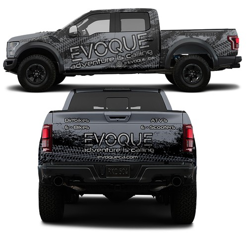 Wrap for Ford Raptor