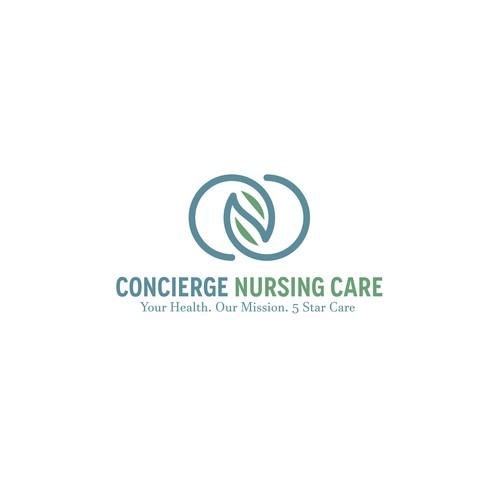Logo design fro CONCIERGE NURSING CARE.