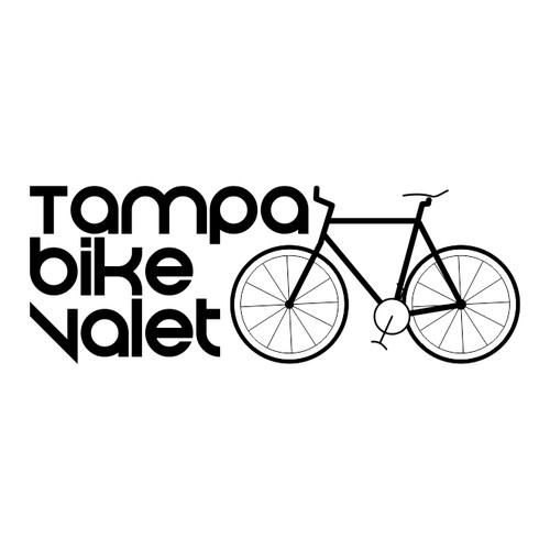 Your Logo Helps Launch Professional Bike Valet Service Company in Tampa, FL.