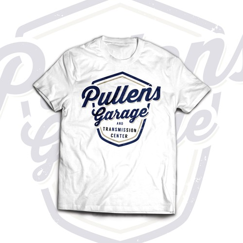 Logo for Pullens Garage