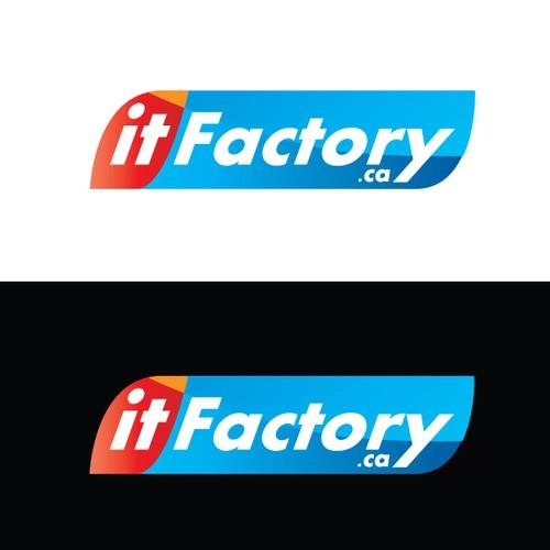 Create the next logo for ITFACTORY.CA