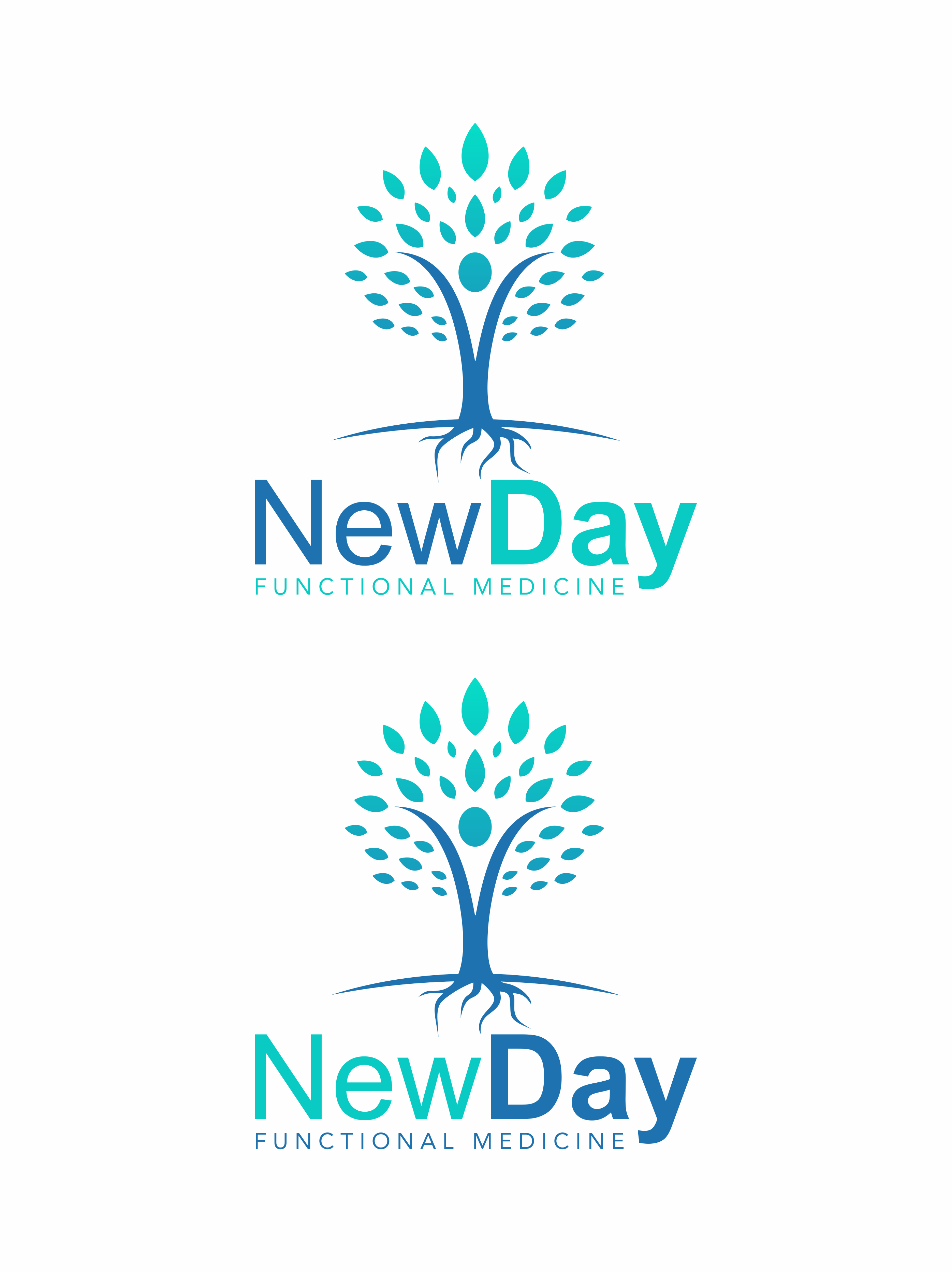 Design a logo for NewDay Functional Medicine
