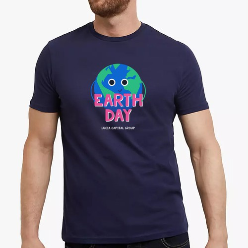 'Earth Day' clean-up event t-shirt
