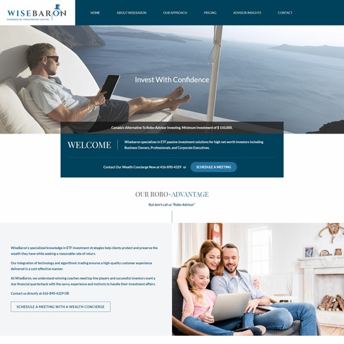 WiseBaron Website