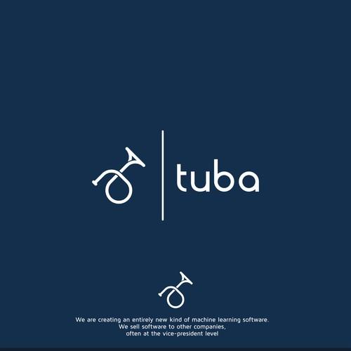 logo for new high technology startup, tuba labs, inc.