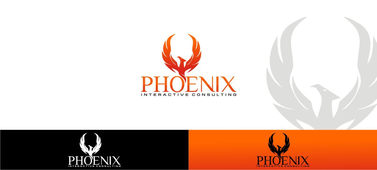 Create the next logo for Phoenix Interactive Consulting