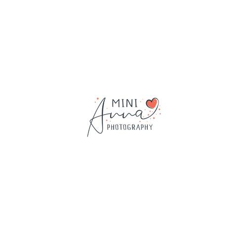 Lettering logo design for photographer