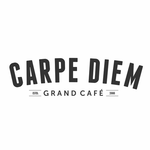 New Brand Identity for 'Carpe Diem, Grand Café