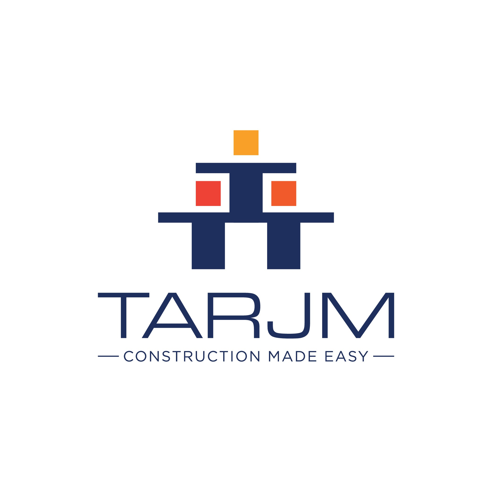 Design an attractive logo for a construction platform