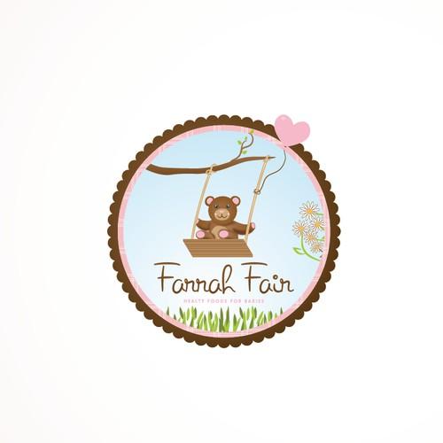 Help Farrah Fair sell their healthy baby & children's food with a fun logo