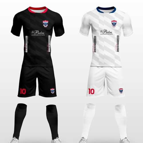 Soccer uniforms  home and away