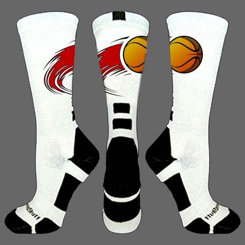 basketball sock