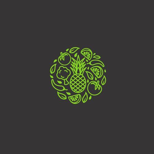 Organic modern logo concept