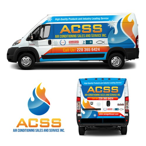 Air Conditioning Sales & Service, Inc. Vehicle Wrap