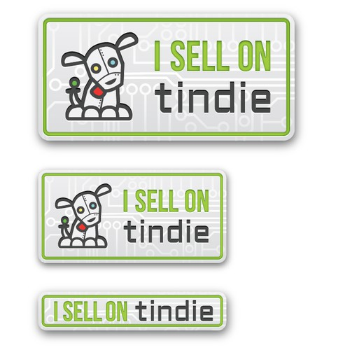 Create the next icon or button design for Tindie