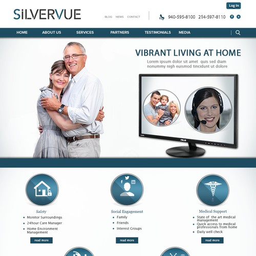 www.silvervue.com needs a new landing page