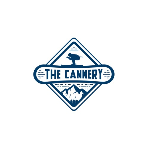 Badge logo concepts for The Cannery