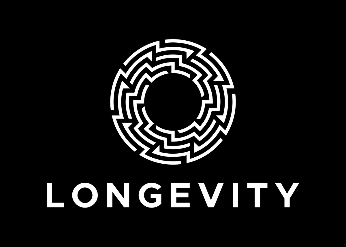need a friendly and inviting logo for online fitness promoting longevity