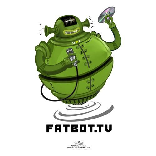 Fatbot.tv illustration concept
