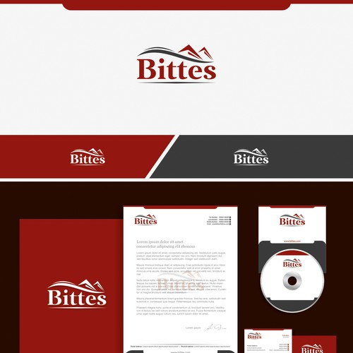 create the logo of Bittes estate, Luxury houses and apartaments..