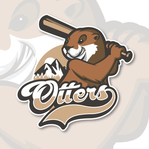Logo for Columbia Rivers Otters