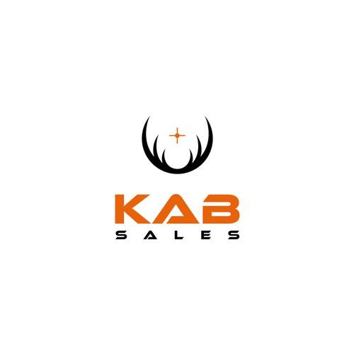 KAB SALES logo concept