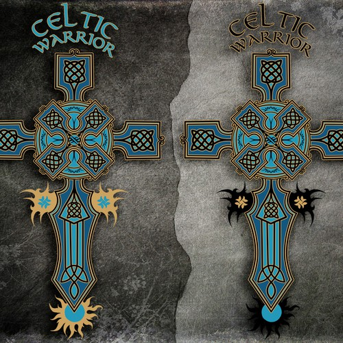 Celtic warrior shirt design