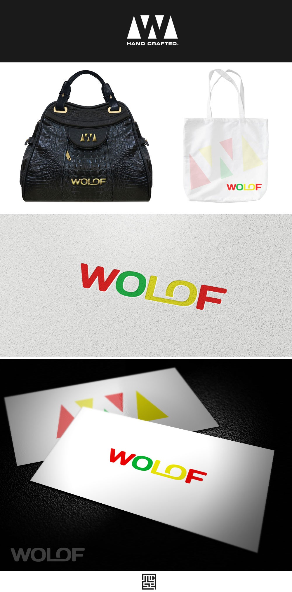 Exciting new project: A logo that is modern&sleek but embodies handmade products