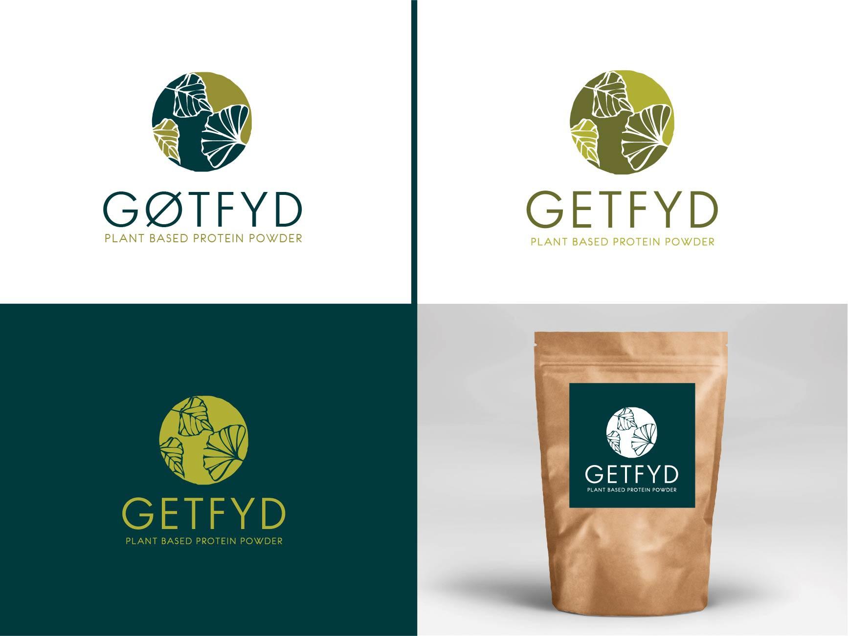 Gøtryd Logo Design - all natural protein powder