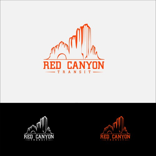 Create a strong, environmentally-evocative logo for a new transit contractor for nat'l park shuttles
