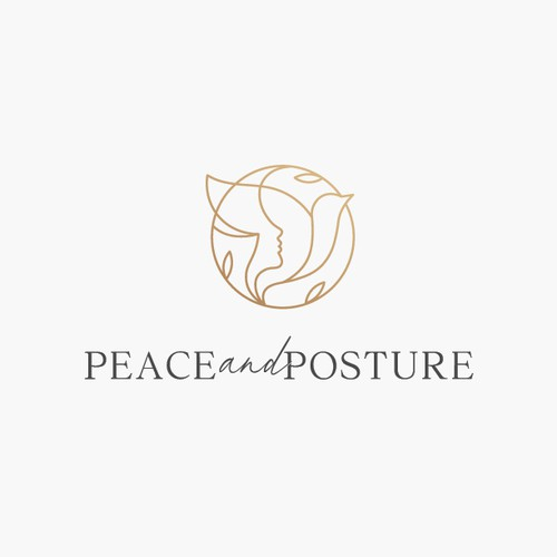 Sophisticated Logo for a private massage therapy practice