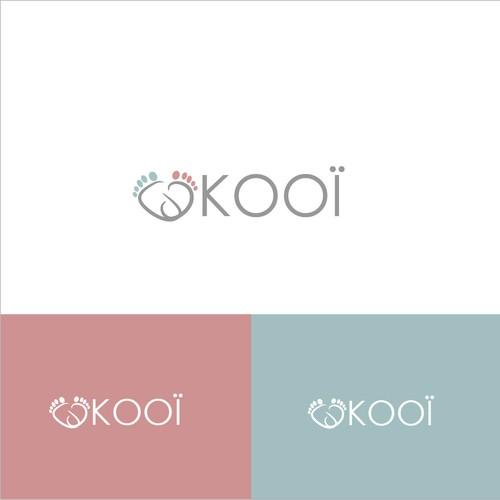 Logo for baby brand