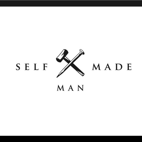 Logo for SelfMadeMan lifestyle brand