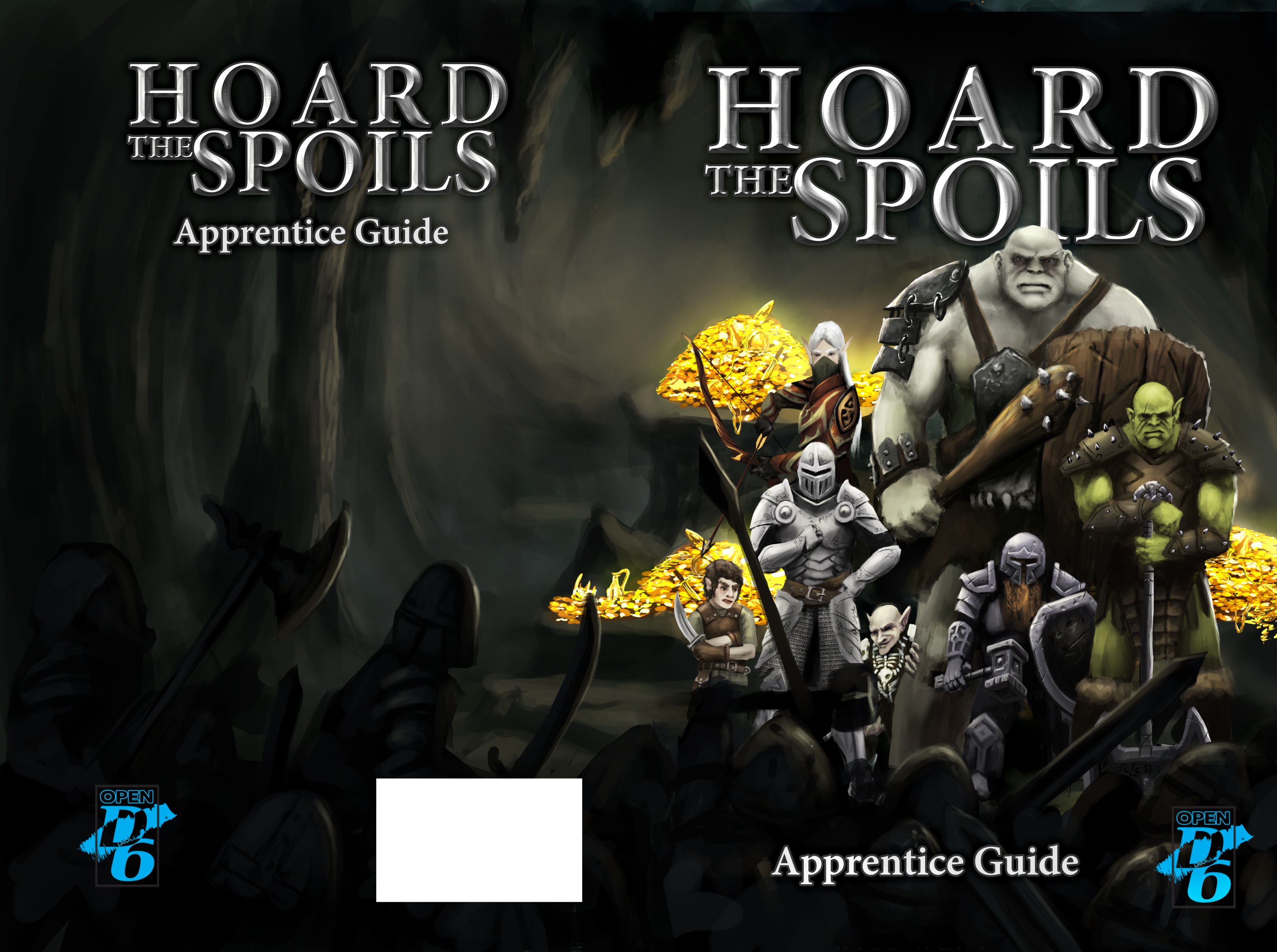 Hoard The Spoils Fantasy Role-playing game book cover