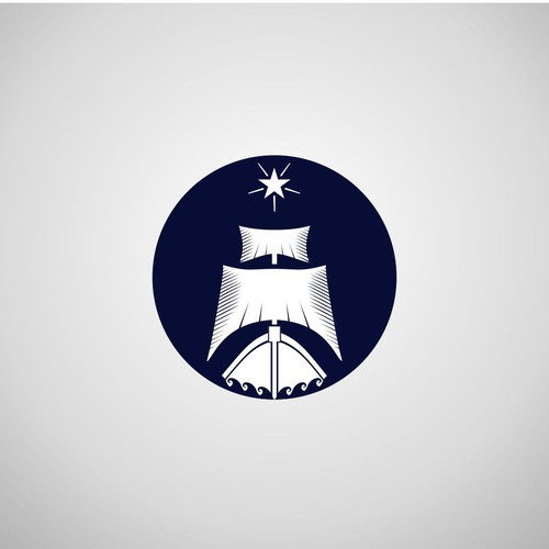 Iconic ship logo