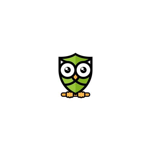 Cute Owl Logo
