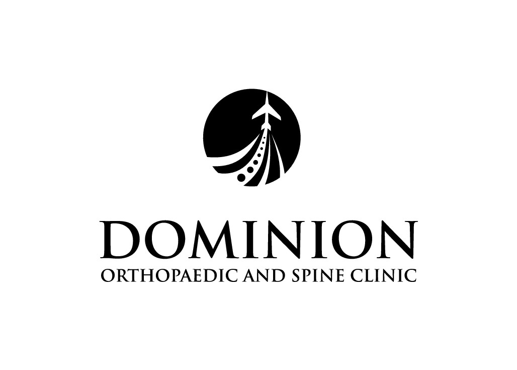 Create a high-flying logo for Dominion Orthopaedic and Spine Clinic