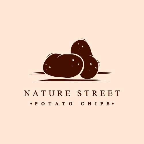 Classic Potato Logo