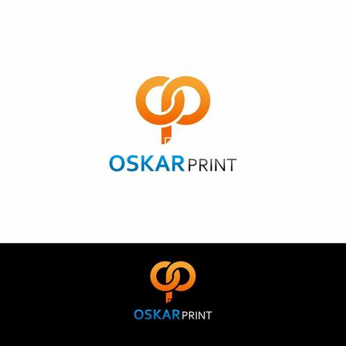 logo concept for oskar print