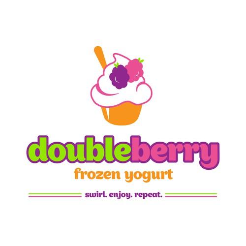 doubleberry froyo logo