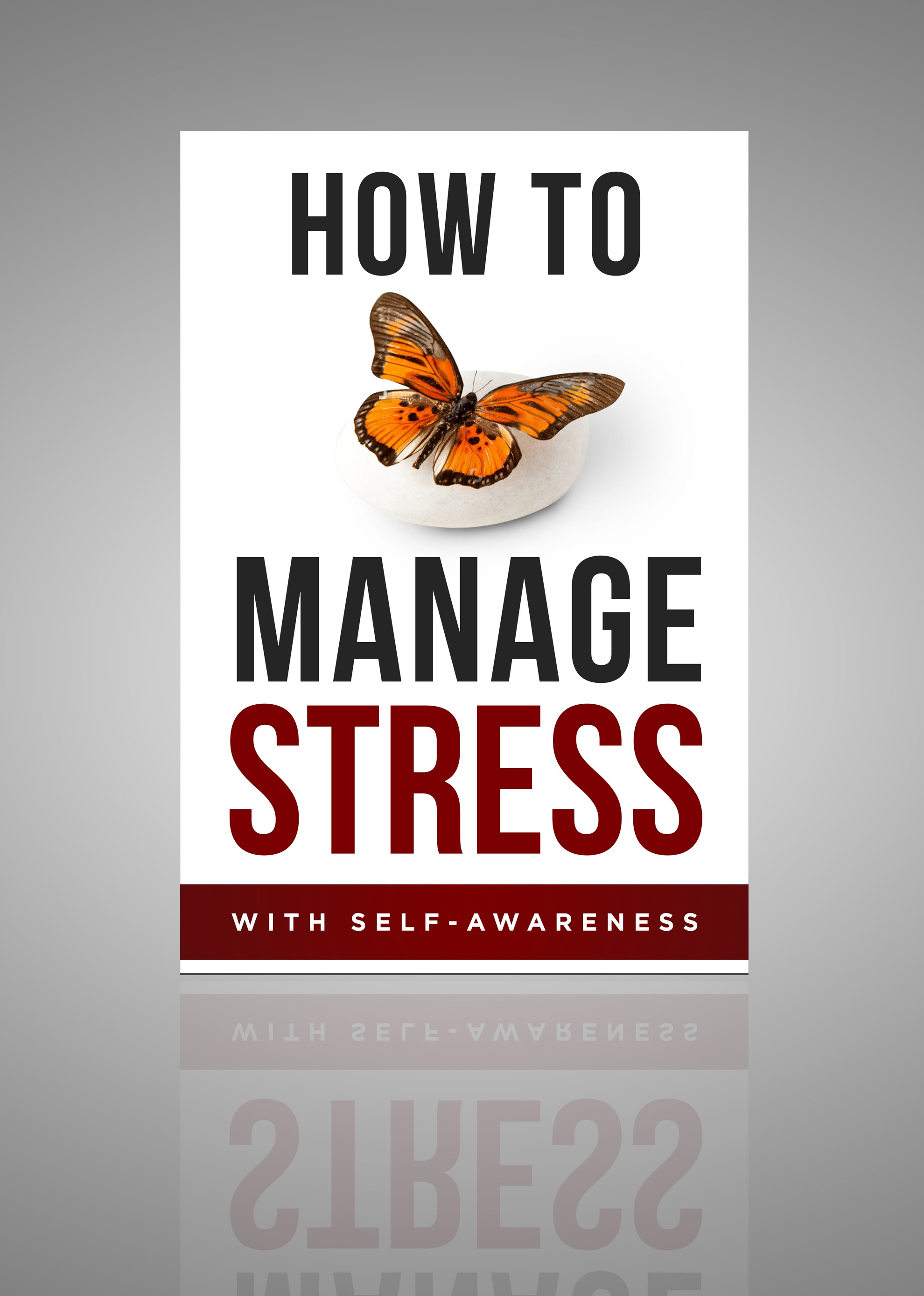 Book cover for self-help book