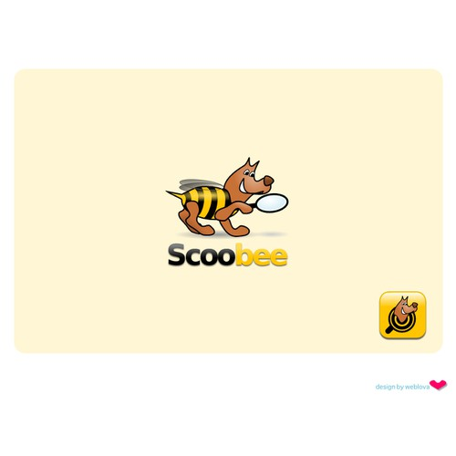Mascot and logo name with 'bee' word