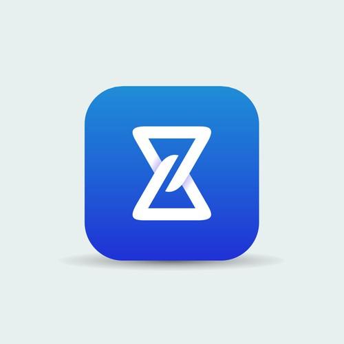 Clean App Icon for Zero Time