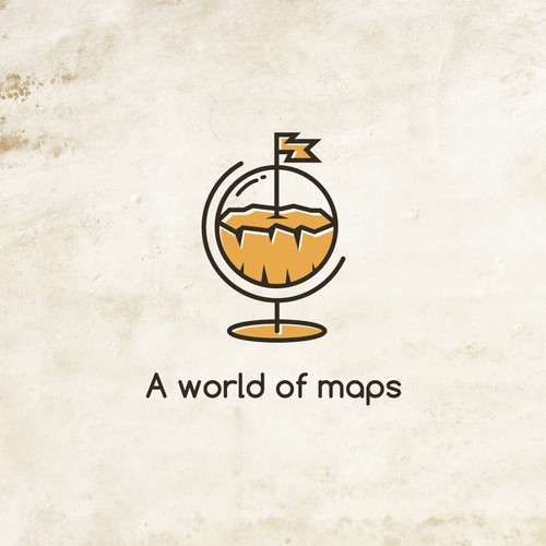 A World of Map Logo